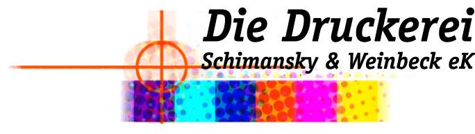 Die Druckerei Schimansky & Weinbeck e.k.