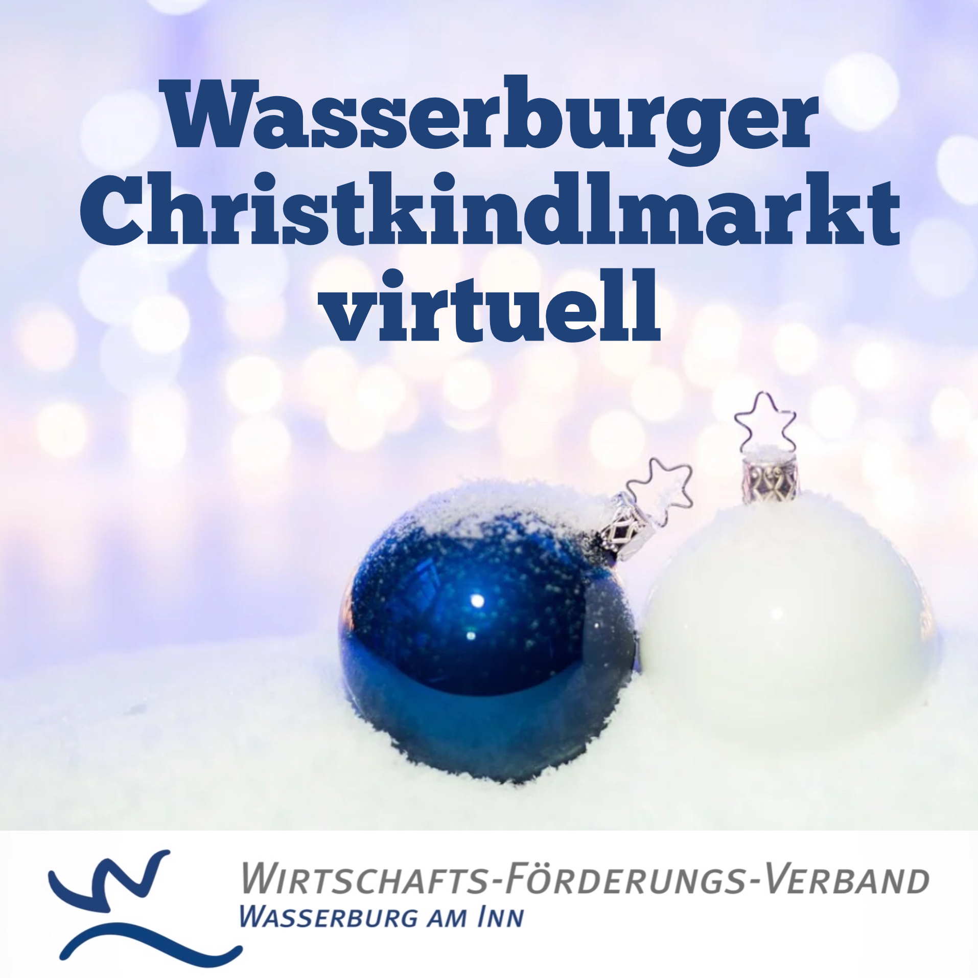 Wasserburger Christkindlmarkt virtuell